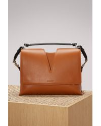 Jil Sander - Leather Crossbody Bag - Lyst