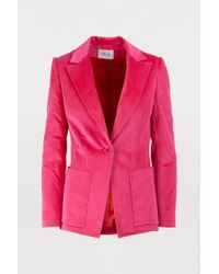 Pallas - Velvet Jacket - Lyst
