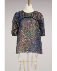 Chloé | Fireworks Printed Cotton Top | Lyst