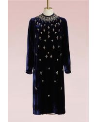 Biyan - Lisabeth Velvet Dress - Lyst