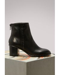 Rag & Bone - Leather Willow Boots - Lyst