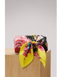 Dolce & Gabbana - Roses Silk Scarf - Lyst
