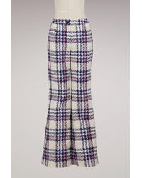 Moncler Grenoble - Plaid Ski Trousers - Lyst 3fe6aed2a