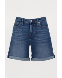 7 For All Mankind - The Boy Shorts - Lyst