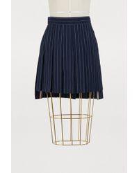 Thom Browne - Short Pleated Skirt - Lyst