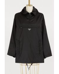 Prada - Nylon Windbreaker - Lyst