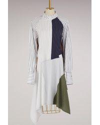 J.W.Anderson - Patchwork Shirt Dress - Lyst
