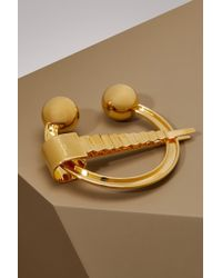 Maison Margiela - Brass Brooch - Lyst