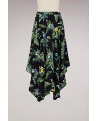 Stella McCartney - Poppy Silk Skirt - Lyst