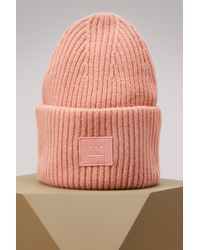 82c3509dac8 Acne Studios - Wool Pansy Face Hat - Lyst