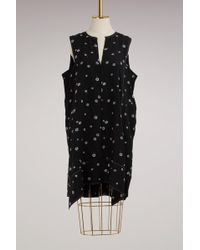 Proenza Schouler - Trapeze Silk Dress - Lyst