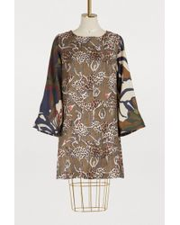 La Prestic Ouiston - Madrid Dress With Dancer Print - Lyst