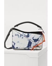 Loewe - Puzzble Bleached Bag - Lyst