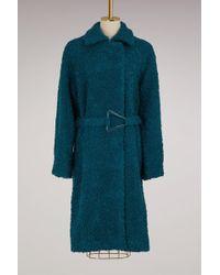 Carven - Wool Coat - Lyst