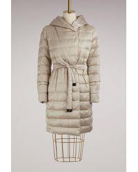 Max Mara - Novef Long Duvet Jacket - Lyst