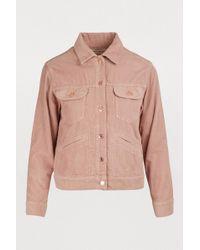 Étoile Isabel Marant - Foftya Cotton Jacket - Lyst