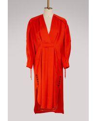 Carven   Wool Dress   Lyst