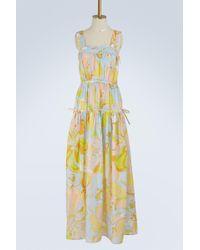 Emilio Pucci - Aruba Printed Silk Dress - Lyst