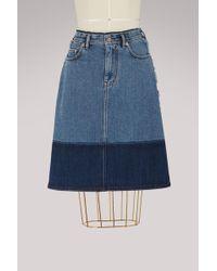 Acne Studios - Cotton Halona Skirt - Lyst