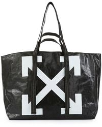 Off-White c/o Virgil Abloh - New Commercial Tote Bag - Lyst