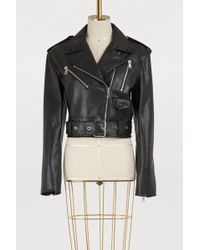 Proenza Schouler - Leather Biker Jacket - Lyst