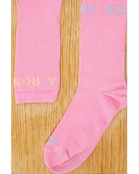 Roseanna - Pink Cotton Socks - Lyst