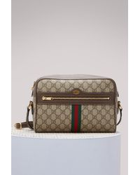 Gucci - Ophidia Gg Supreme Small Shoulder Bag - Lyst