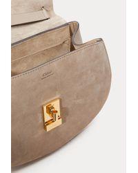 Chloé - Mini Metallic Drew Shoulder Bag - Lyst