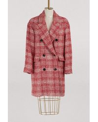 Étoile Isabel Marant - Ebra Virgin Wool Coat - Lyst