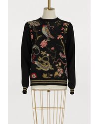 RED Valentino - Flora Fauna Printed Jumper - Lyst