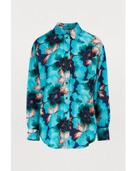 KENZO - Indonesian Flower Shirt - Lyst