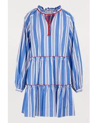 Stella Jean - Short Cotton Dress - Lyst