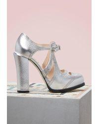 Fendi - Chameleon Court Shoes - Lyst