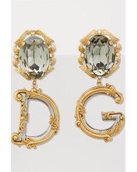 Dolce & Gabbana - Dg Earrings - Lyst