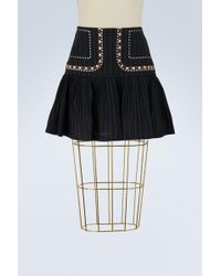 Étoile Isabel Marant - Linen Jessie Short Skirt - Lyst