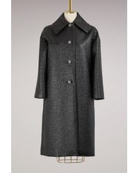 Lanvin | Jewels Buttons Coat | Lyst