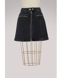 Rag & Bone - Isabel Zip-up Skirt - Lyst