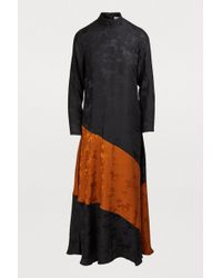 Ganni Ackerly Silk Dress