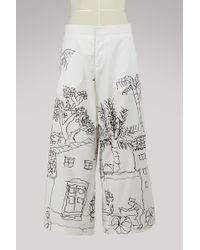 Marni - Large And Short Trouser - Lyst