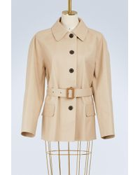Maison Margiela - Cotton Peacoat - Lyst