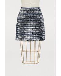 Thom Browne - Tweed Mini Skirt - Lyst