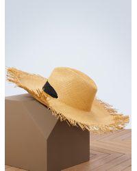 Sensi Studio - Panama Hat With Adjustable Ribbon - Lyst