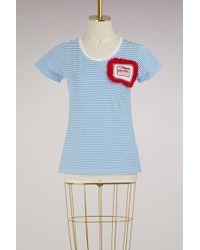 """Michaela Buerger - """"eat Me"""" Cotton T-shirt - Lyst"""