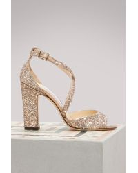 Jimmy Choo - Carrie 100 Sandals - Lyst