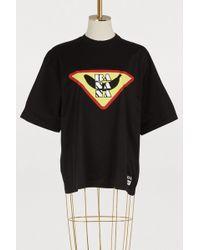 Prada - Banana Print T-shirt - Lyst