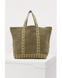 Vanessa Bruno - Linen Tote With Eyelets - Lyst