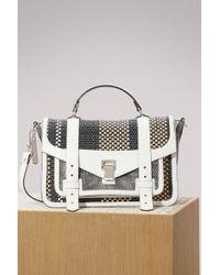 Proenza Schouler - Woven Ps1+ Medium Handbag - Lyst