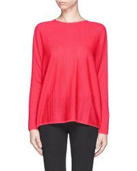 Maje Wool Knit Sweater - Lyst