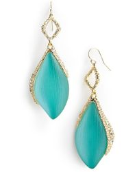 Alexis Bittar 'Lucite - Pastel Punk' Drop Earrings - Aqua Opalescent - Lyst