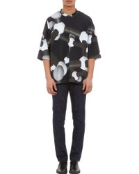 Christopher Kane Digital Moleculeprint Oversize Tshirt - Lyst